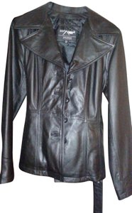 Wilsons Leather Belted Leather Jacket