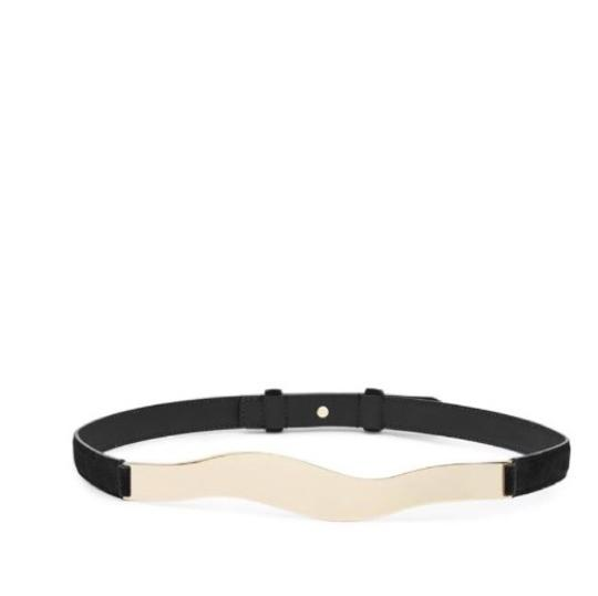 Preload https://img-static.tradesy.com/item/23797234/reiss-black-suede-curved-waist-medium-belt-0-1-540-540.jpg