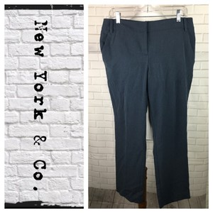 New York & Company Trouser Pants blue