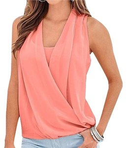 Vince Camuto Top Peach