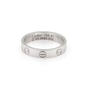 Cartier Mini Love Wedding Band 3.5mm