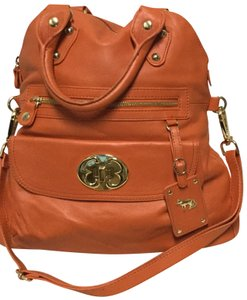 Emma Fox Satchel in Orange