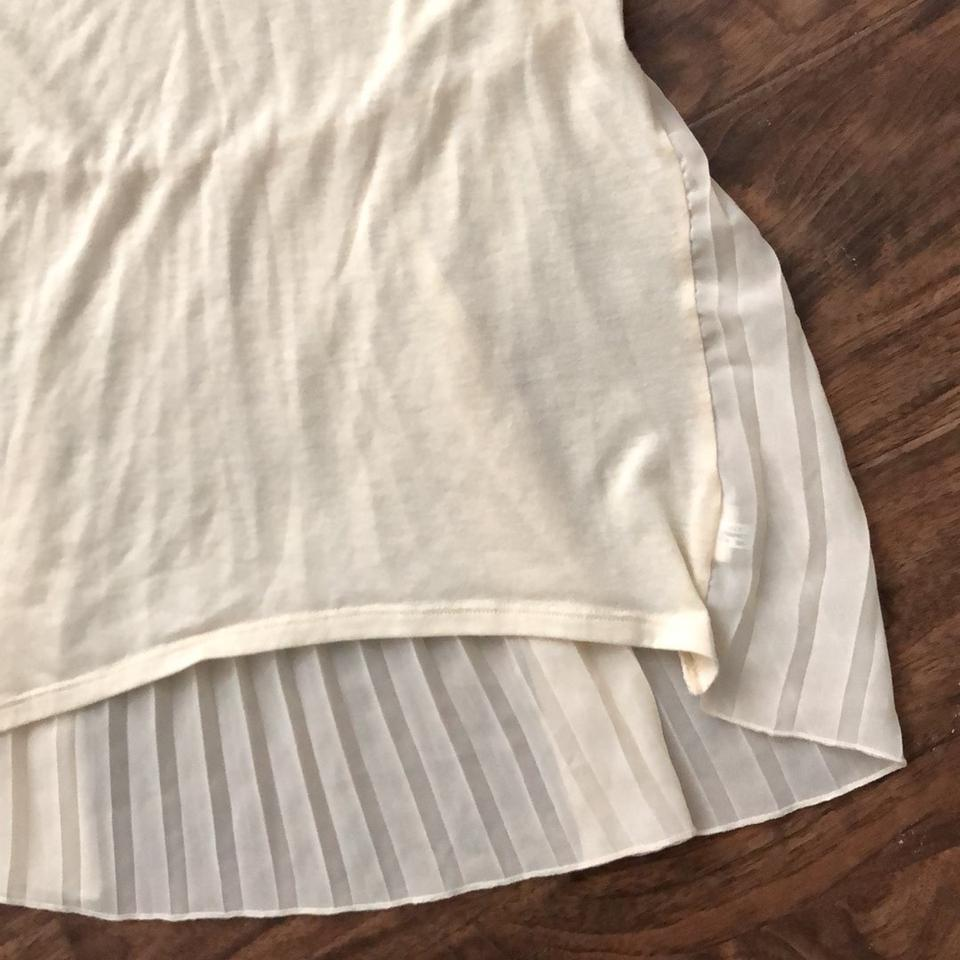 63ab4088995 American Eagle Outfitters Ivory Pleated Back Tunic Size 2 (XS) - Tradesy