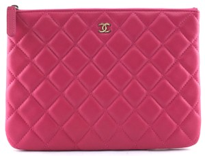 1b86b4a051f7 Added to Shopping Bag. Chanel Pink Clutch. Chanel Medium O-case ...