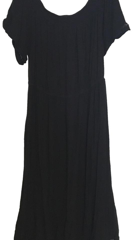 Black Casual Maxi Dress