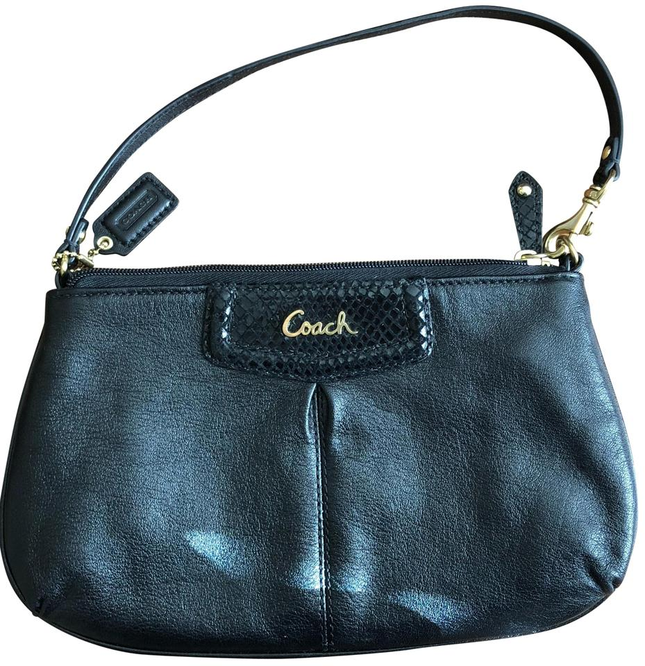 ca4bc4c7e60f Coach black leather snakeskin accent hobo bag tradesy jpg 929x960 Coach  black hobo bag