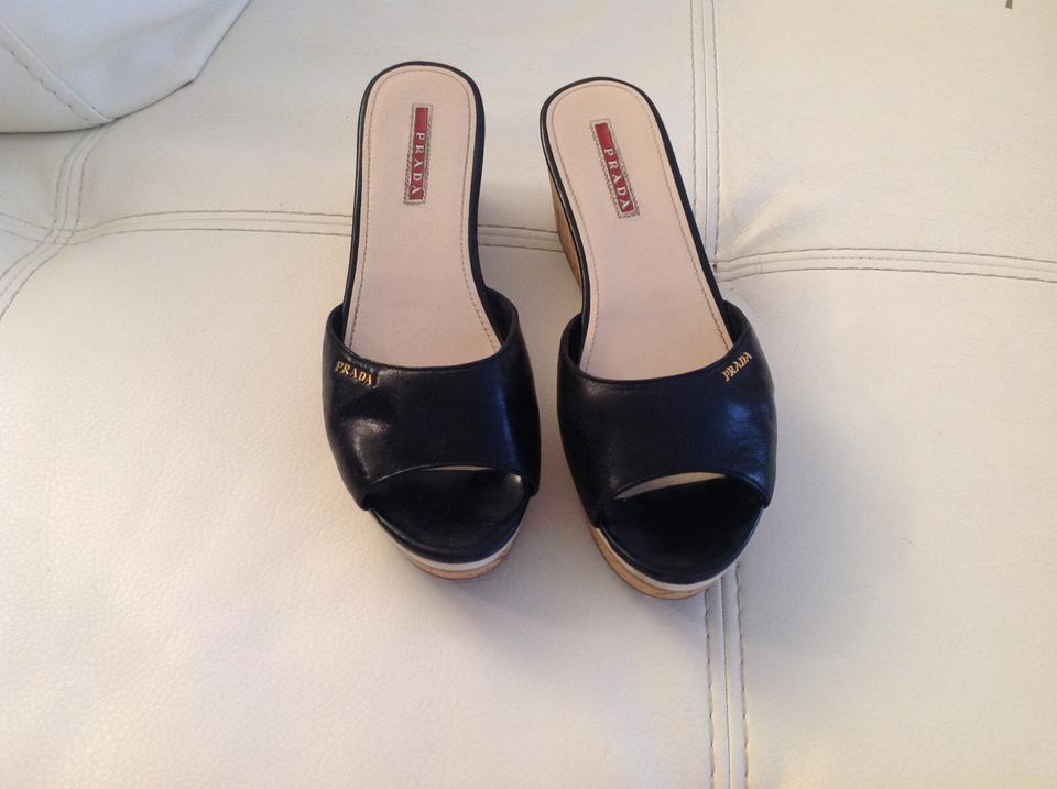 Black Black Wedges Prada Prada Wedges Prada Black Black Prada Wedges Prada Wedges cTq76Hp0p