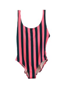 Solid & Striped Solid & Striped One Piece Bathing Suit Anne-Marie Green Pink size L