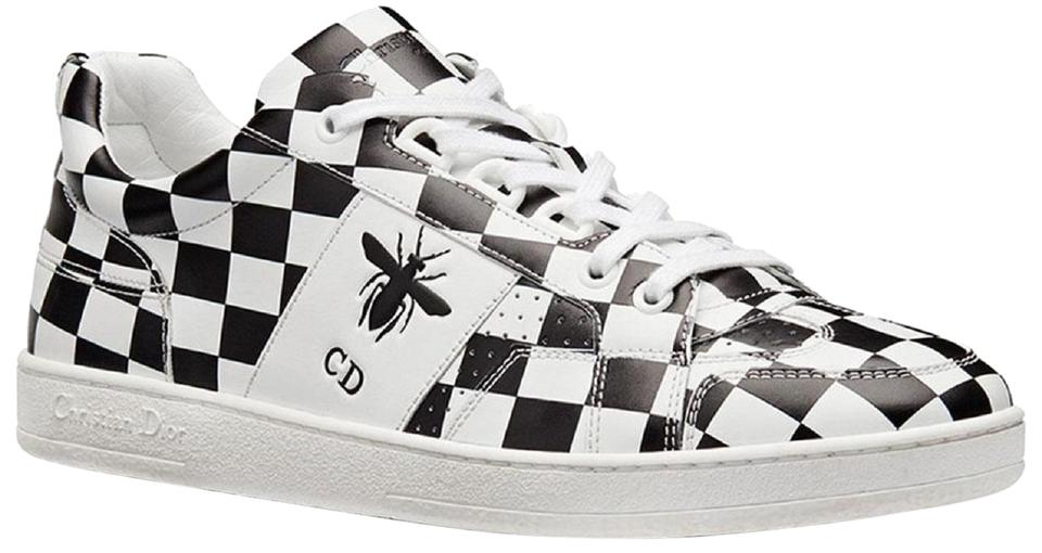 Dior D White Black New Sneakers Sneaker bee Checker 7qw7PnWcZr