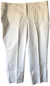 Ann Taylor New With Tags Curvy Belt Loops Flat Front Capri/Cropped Pants Khaki