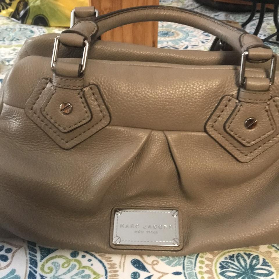 Leather Classic Satchel Cement Jacobs Marc RpWngAqw
