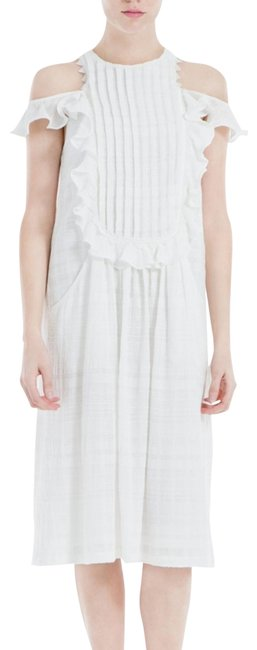 Item - White Nicollette Mid-length Casual Maxi Dress Size 6 (S)