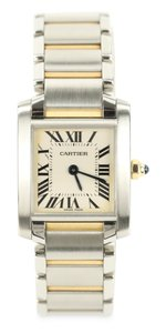 Cartier Tank Francaise 18kt Yellow Gold and Steel