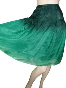 Bergdorf Goodman Skirt emerald green