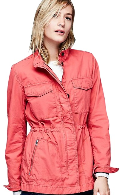 Item - Red Military Jacket Size 2 (XS)