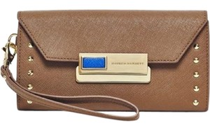 Hayden-Harnett Hayden harnett leather lock clasp wallet clutch