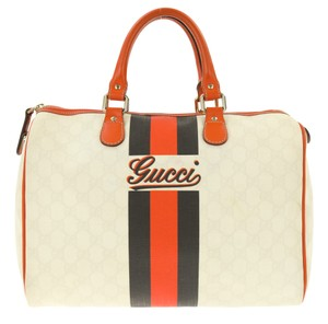 Gucci Boston Sdy Duffle Marmont Soho White Travel Bag