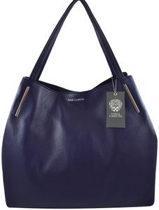 Vince Camuto Tote in Blue Peacoat
