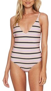 Beach Riot Striped one piece