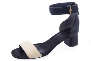 Tory Burch Black/Ivory Sandals