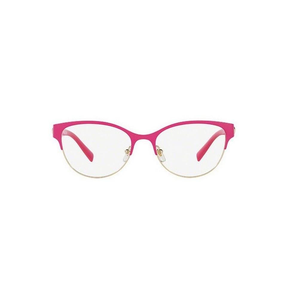 421c676989 Versace Pink Ve1237-1384 Full Rim Women s Frame Genuine Eyeglasses ...