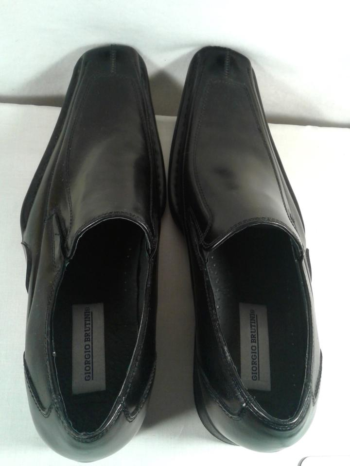 Dress Leather Comfort Brutini Casual Shoes Black Giorgio 11 Man's Synthetic nwxYtR06qC