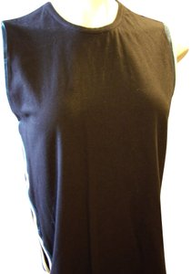 Opening Ceremony Sleeveless Open Side Top Black