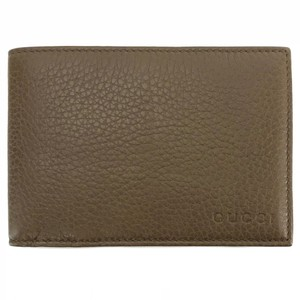 Gucci GUCCI 278596 Men's Bengal Leather Bifold Wallet
