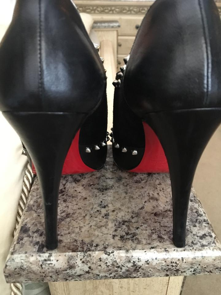 Black Astraqueen Booties Boots Louboutin Christian 5WHZnXqvw5