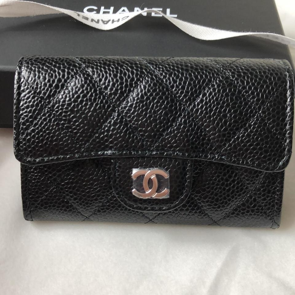 702d94243148e2 Chanel Chanel Classic Snap On Card Holder Image 8. 123456789