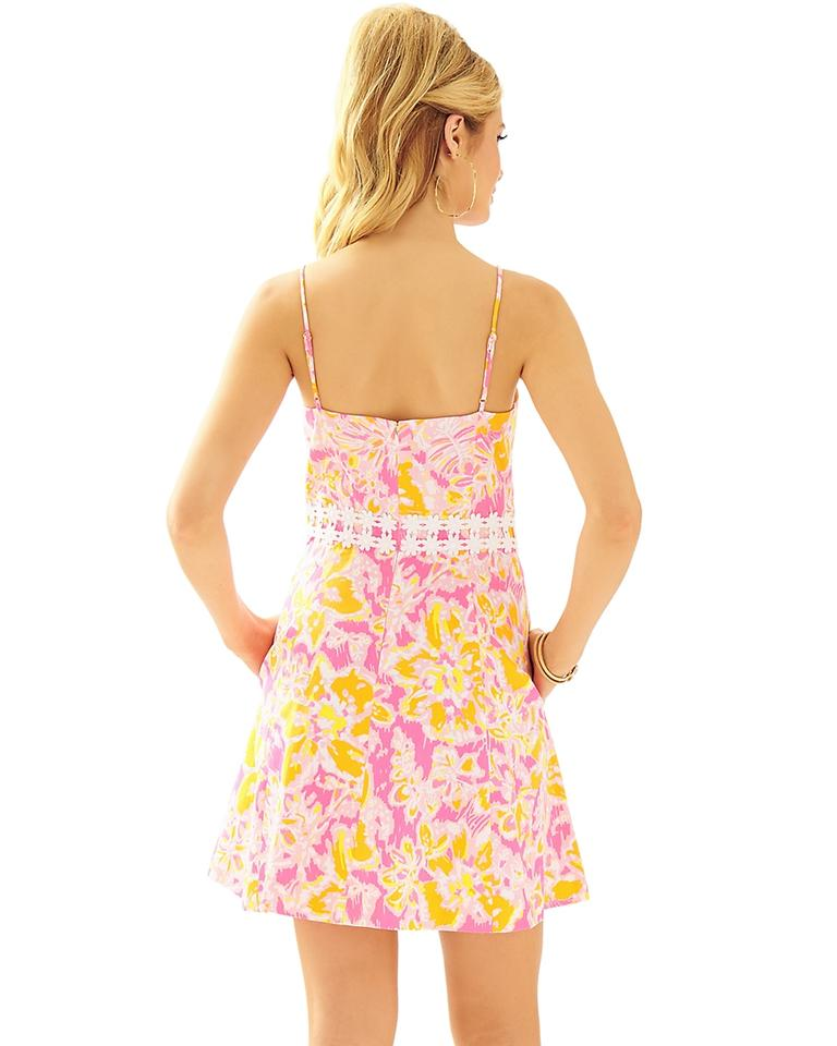 917f00df168 Lilly Pulitzer Kir Royal Pink Ooh La La Lenore Lace Cut-out New Short  Casual Dress Size 6 (S) - Tradesy