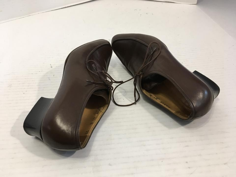 Cole Tie An Leather All Flats Heels Brown Haan Italian Stack Offer Loafer Chunky Make Wood But nwrEwqY7
