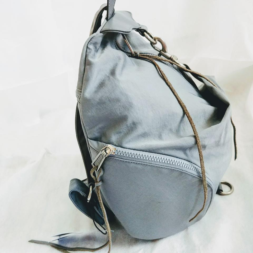 Julian Silver Nylon Rebecca Backpack Minkoff 5wfAxRqn1H