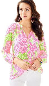 Lilly Pulitzer Top Home Slice