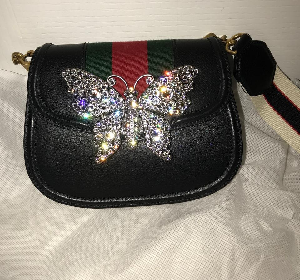 687179058 Gucci Linea New Totem Crystal Butterfly Shoulder Bag - Tradesy