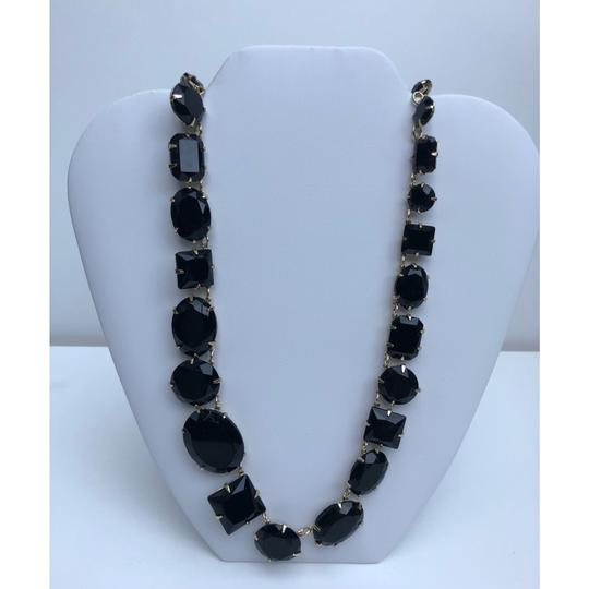 Etienne Aigner New Crystal Glass Statement Necklace Image 1