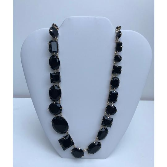 Etienne Aigner New Crystal Glass Statement Necklace Image 3