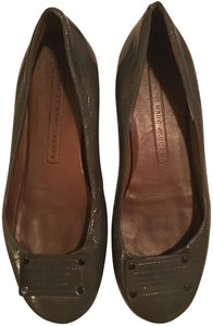 Marc by Marc Jacobs Ballet Patent Leather Fall Grey Flats