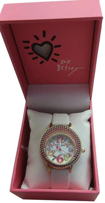 Item - White New Multi-colored Watch