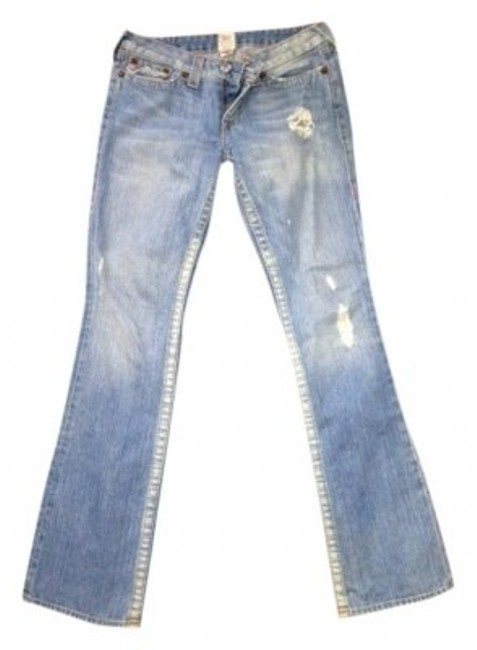 Preload https://item2.tradesy.com/images/true-religion-light-faded-distressed-lightly-boot-cut-jeans-size-30-6-m-23806-0-0.jpg?width=400&height=650