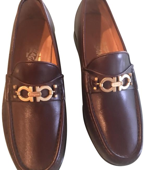 Item - Brown Bit Loafers Flats Size US 6 Extra Wide (Ww, Ee)