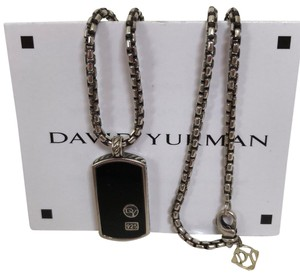 David Yurman Authentic David Yurman Tag Necklace