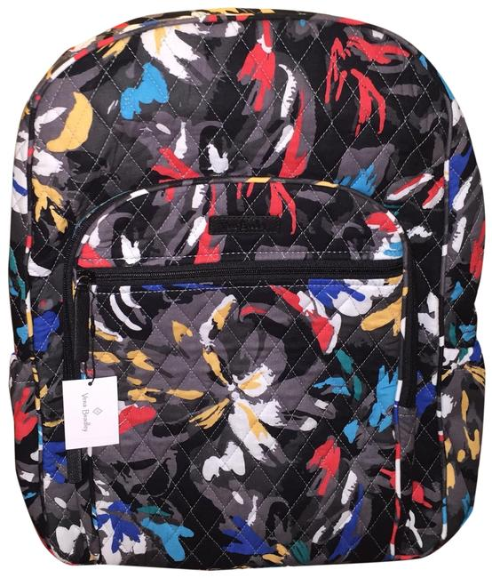 Vera Bradley Campus In Splash Floral Multicolor Backpack Vera Bradley Campus In Splash Floral Multicolor Backpack Image 1