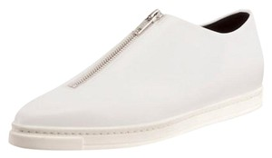 Stella McCartney Zipper Made In Italy Pointed Toe white Flats