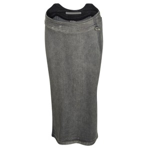 Stella McCartney Denim Skirt Grey
