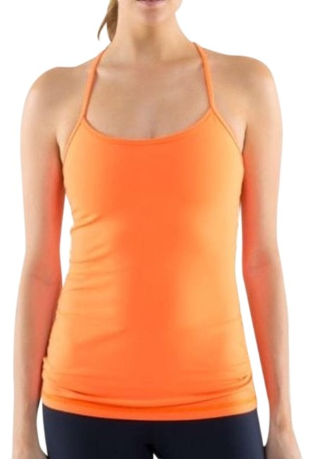Item - Pop Orange Y *luon Light Activewear Top Size 10 (M)