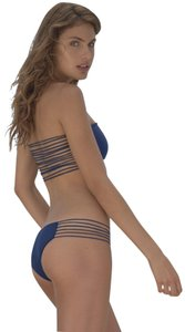 MIKOH Swimwear NEW M 8 Swimsuit Sunset Top Bottom Lady Fashion Multi Strap
