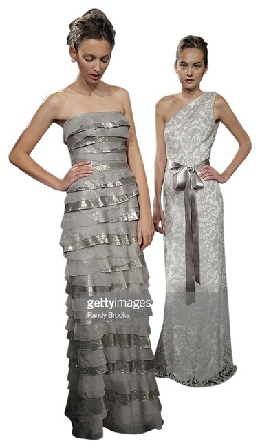 Item - Gold Spring 2011 Ready-to-wear Runway Collection Long Formal Dress Size 14 (L)