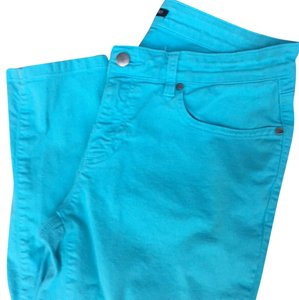 Eileen Fisher Capri/Cropped Pants turquoise