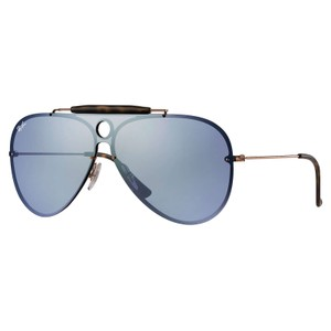 ac005fc1f6f Ray-Ban Ray-Ban Blaze Shooter Bronze   Copper  Violet Mirror 32mm RB3581N
